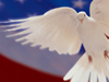 Land of Peace  -- Free Traditional Patriotic,Traditional  Military Desktop Wallpapers from American Greetings