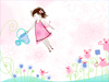 June Calendar  -- Free Cute Celebrate Spring, Desktop Wallpapers from American Greetings