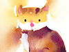 Kitty Portrait  -- Free Cute Cats,Cute  Pets Desktop Wallpapers from American Greetings