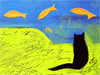 Feline Fantasy  -- Free Cats Just Because Animal, Pets Just Because Animal Desktop Wallpapers from American Greetings