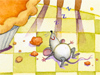 Thankful Mouse  -- Free Cute Thanksgiving,Cute  Holiday Desktop Wallpapers from American Greetings