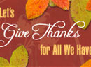 A Poem Of Thanks Thanksgiving eCards