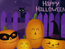 Pumpkin Quartet Halloween eCards
