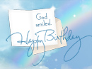 God Smiled Birthday eCards