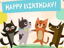 Especially Fur You<br>Singing Telegram Birthday eCards