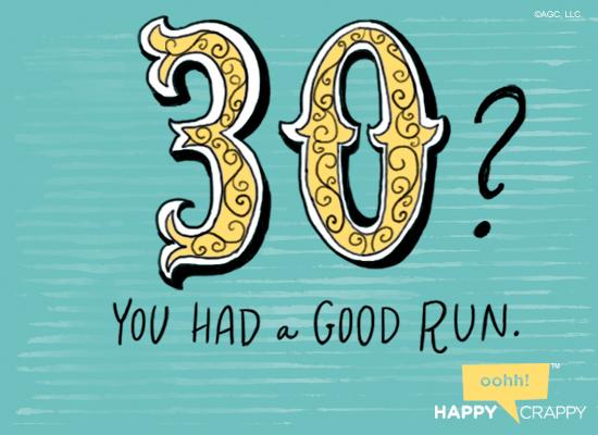 30 Already 30th Birthday Ecard – 30th Birthday E Cards