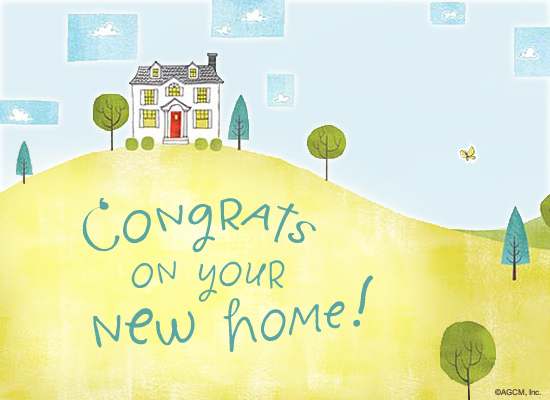 ecard: New Home Postcard
