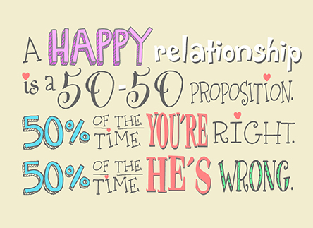 A Happy Relationship