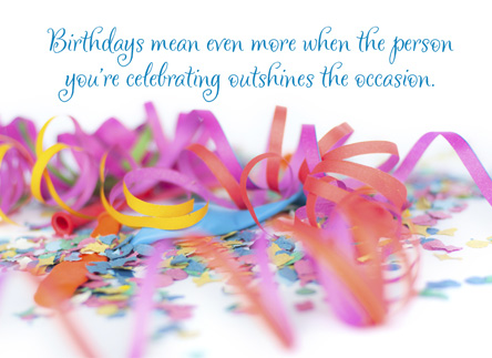 The Meaning of Birthdays