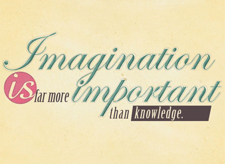 Imagination vs. Knowledge
