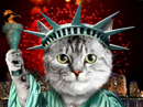 Catue of Liberty<br>Talking Card Independence Day eCards