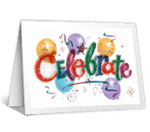 Celebrating You happy birthday printable cards