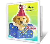 We're Gonna Party! happy birthday printable cards