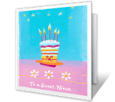 You're Sweet happy birthday printable cards