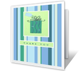 Note of Thanks thanks for the gift printable cards