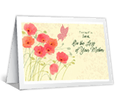 All That Your Mother Meant sympathy printable cards