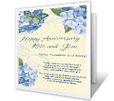 Today, Tomorrow & Always happy anniversary printable cards