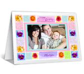 Happiness Wishes add-a-photo happy birthday printable cards