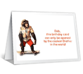 Coolest Brother happy birthday printable cards