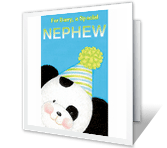 You're a Special Nephew happy birthday printable cards