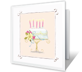 To My Wonderful Sister happy birthday printable cards
