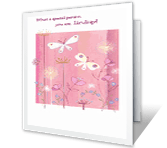 Wonderful Birthday Wish happy birthday printable cards