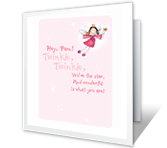 You're the Star! happy birthday printable cards