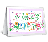 Best Happiness Wishes happy birthday printable cards