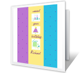 Missed Your Birthday belated birthday printable cards