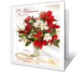 The Lord Blesses You printable christmas card