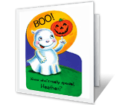 Know Who's Special? printable halloween card