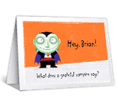 A Halloween Riddle printable halloween card
