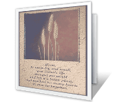 On the Loss of<br>Your Father sympathy printable cards
