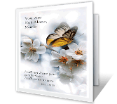 You Are Not Alone sympathy printable cards