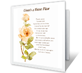 There's a Better Place sympathy printable cards
