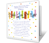 For All You Do administrative professionals day printable cards
