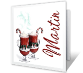 I Treasure Your Friendship christmas printable cards