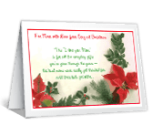 For Mom With Love christmas printable cards