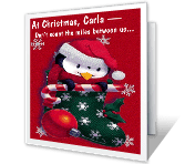 Smiles Between Us christmas printable cards