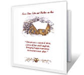 Sister and Her Husband christmas printable cards