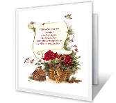 A Time to Remember christmas printable cards