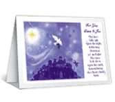 Hope of Christ christmas printable cards