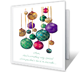 For a Wonderful Mom christmas printable cards