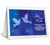 May You Be Blessed christmas printable cards