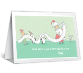 Are You Naughty<br>or Nice? christmas printable cards
