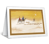 Wishing You Peace christmas printable cards