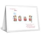 For a Special Daughter christmas printable cards
