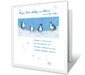 To Family <br> Across the Miles christmas printable cards
