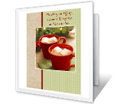 To a Special Daughter and Son-in-law christmas printable cards