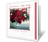 Wife Is Best Friend christmas printable cards
